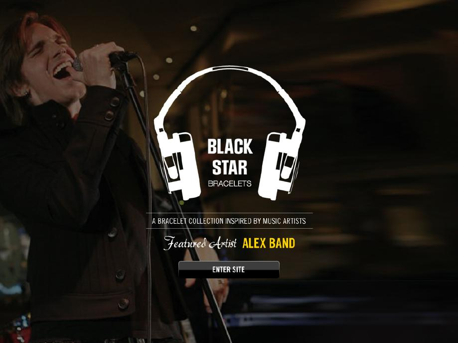 Blackstar Bracelets Featuring Alex Band